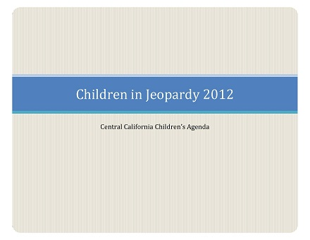 Children in Jeopardy 2012 Publication
