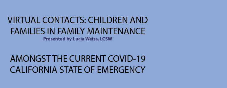 Children and Families in Family Maintenance