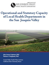 Operational and Statutory Capacity of Local Health Departments in the San Joaquin Valley