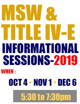 msw info sessions 2019