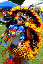 Picture of Navtive American Indian Dancing