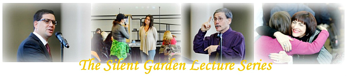 The Silent Garden Lecture Banner